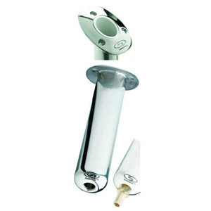 Flush Mount Stainless Steel Rod Holder