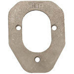 Stainless Steel Backing Plate For 70 Series Rod Holders