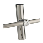 Adjustable Clamp-On Rod Holder - 304 Stainless