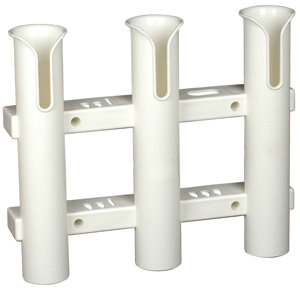 Tournament 3 Rod Rack- White MAIN