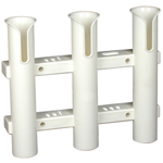 Tournament 3 Rod Rack- White