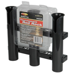 Tournament 3 Rod Rack- Black THUMBNAIL