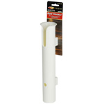 Single Rod Rack- White