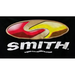Smith Logo T-Shirt, Black Short Sleeve THUMBNAIL