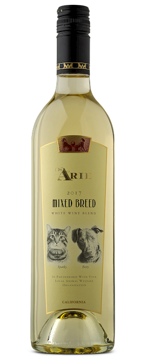 2017 Mixed Breed  <br> White Wine Blend LARGE