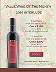 2018 April Value Wine of the month 2014 Interlude
