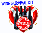 Wine Survival Kit 4 Bottles THUMBNAIL
