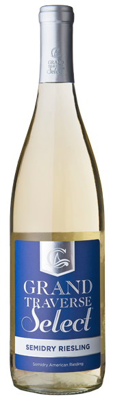 Grand Traverse Select Semidry Riesling Bottle