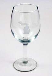 MI Wine Glass