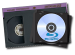 Conversion of Broadcast Tapes to DVD and Blu-ray Disc