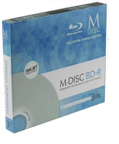 Archive to M-Disc MAIN