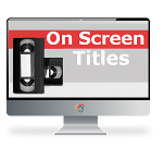 Custom On-screen Titles THUMBNAIL