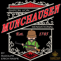 The Sensational Baron von Munchausen, by Rudolph E. Raspe LARGE
