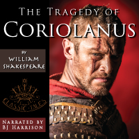 Coriolanus, by William Shakespeare (mp3/AAC Audiobook download) LARGE