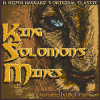 King Solomon's Mines, by H. Rider Haggard (Unabridged mp3/AAC Audiobook download) THUMBNAIL