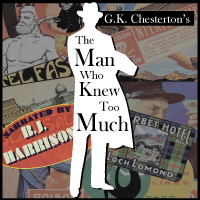 The Man Who Knew Too Much, by G.K. Chesterton LARGE