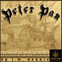 Peter Pan , by J.M. Barrie (Unabridged Audiobook Download) LARGE