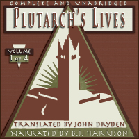Plutarch's Lives, Volume 1 of 4 THUMBNAIL