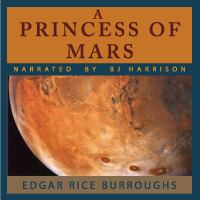 A Princess of Mars, by Edgar Rice Burroughs LARGE
