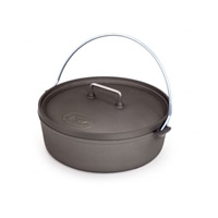"GSI 10"" Hard Anodized Aluminum Dutch Oven MAIN"