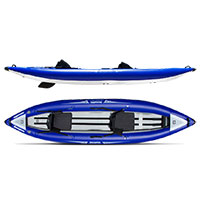 Aquaglide Klickitat 125 HB Inflatable Tandem Kayak MAIN