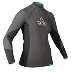 NRS Women's HydroSkin 1.0 Long Sleeve Shirt THUMBNAIL