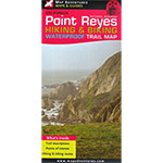 Point Reyes Hiking & Biking Waterproof Map THUMBNAIL