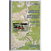 Middle Fork and Main Salmon RiverMap
