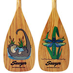 Sawyer Kid's Tales Wood Canoe Paddle THUMBNAIL
