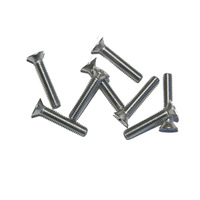 "1"" 8-32 Pan Head Stainless Screws"