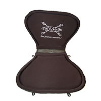 Yakpad Gel Filled Paddle Saddle & High-Back Backrest