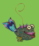 Fish Polymer Clay Ornament