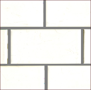 "Mid-century White 3x6"" Gloss Tile in Stock MAIN"