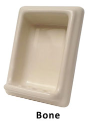 Semi Recessed Soap or Tumbler Holder MAIN
