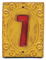 Victorian House Numbers Marigold/Matador Red Mini-Thumbnail