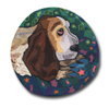 Anchorage the Basset Hound Polymer Clay Silly Milly