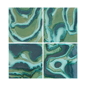 abstract tile art, random tile, mod tile, modern tile, contemporary tile, accent tile THUMBNAIL