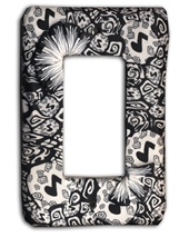 Music Note Silly Milly Switch Plate MAIN