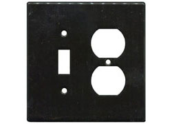 Switch Plate Black SWATCH
