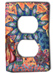 Color Burst Silly Milly Switch Plate Mini-Thumbnail