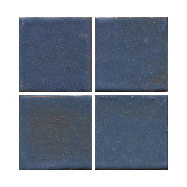 "Blueberry 3x3"" Handmade tiles THUMBNAIL"