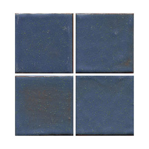 Blue tile, flat tile, plain tile, subway tile, hexagon tile, solid color tile, color tile, handmade THUMBNAIL