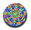mandala blue and yellow THUMBNAIL