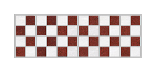Checkerboard Border SWATCH