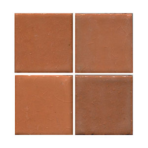 peach tile, orange tile tile, flat tile, plain tile, subway tile, hexagon tile, solid color tile, color tile, handmade THUMBNAIL