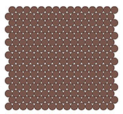 "3/4"" Penny Round SWATCH"