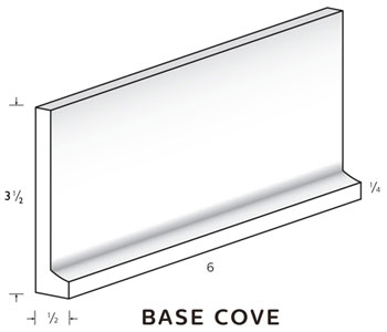 "Base Cove 4"" tall and 1/2"" thick MAIN"