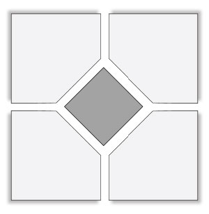 Clipped Corner Tiles THUMBNAIL