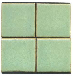 matt green tile, green tile, flat tile, plain tile, subway tile, hexagon tile, solid color tile, color tile, handmade_MAIN