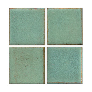 matt green tile, green tile, flat tile, plain tile, subway tile, hexagon tile, solid color tile, color tile, handmade THUMBNAIL